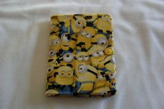Cute Minion tablet cover/case fits the Kindle by MuffysCreations