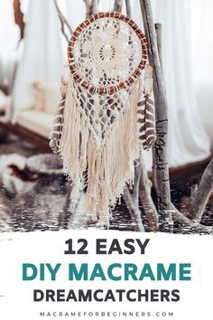 Free Macrame Patterns, Macrame Wall Hanging Patterns, Macrame Art, Macrame Design, Macrame Projects, Macrame Knots, Crochet Dreamcatcher Pattern Free, Knitted Throw Patterns, Knitted Afghans
