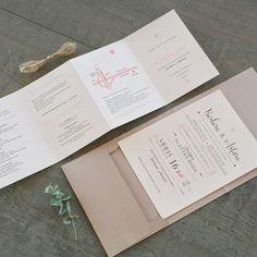 B & A. V & O. Wedding invitation. Invitaciones de boda. Papelería social. Stationery. Modern. Moderna.