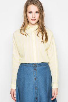 Camisas y blusas de mujer desde 6,99€ en las rebajas de Springfield verano  2015 6a6d4bd42d