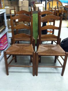Ladder Back Chairs 6500 Via Etsy Set Of 4 Available Come And See