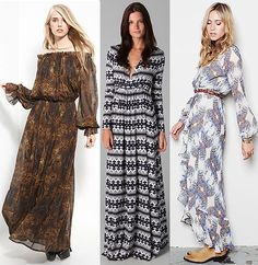 Maxi Dress Pattern with Sleeves - for those days its too warm for pants but too cold for a sleeveless maxi! :D