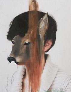 charlotte caron painting portrait