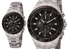 L'eleganza del nero e di un orologio sia sportivo che elegante! #cristianlay #orologio