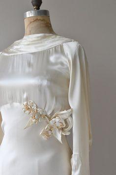 Honoria wedding gown vintage 1930s wedding dress by DearGolden