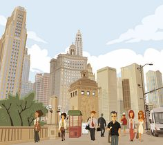 """Chicago Loop"" 