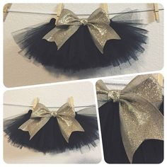 Let your little one ring in the new year in style  $15, newborn-2T. Available in black, red, teal, light blue, electric blue, light pink, hot pink, glitter white and glitter gold with gold accent bow.