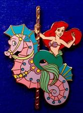extremely rare Ariel seahorse Disney Auction pin Limited Edition of 100 1299