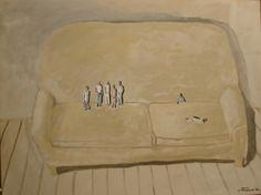 Sillon con familia by Ignacio Iturria