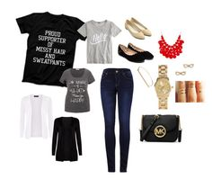 """""""Tees goes totally right..."""" by jamie-michelle-mccutchen on Polyvore"""