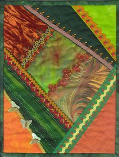 These are five of my Journal Quilts that I did for the Journal Quilts Project. They were at the International Quilt Festival in Houston, Tex. International Quilt Festival, Crazy Quilting, Quilting Projects, Journal, Quilts, Quilt Sets, Log Cabin Quilts, Quilting, Quilt