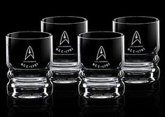 Star Trek U.S.S. Enterprise Glassware Set $29.99