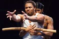 Larry Powell talks race, sexuality and his role in 'The Brothers Size'