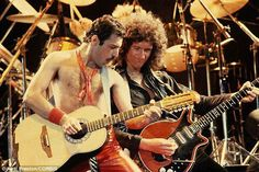 Brian and Freddie - Queen*