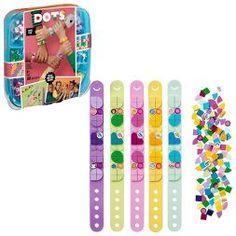LEGO DOTS Bracelet Mega Pack DIY Creative Craft Bracelet-Making Kit For Kids 41913 : Target Creative Play, Creative Crafts, Diy Crafts, Wood Crafts, Building Toys For Kids, Cute Friendship Bracelets, Party Set, Buy Lego, Mega Pack