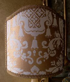 Venetian Lamp Shade Fortuny Fabric Carnavalet by OggettiVeneziani