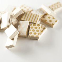 DIY Wood Block Memory Game