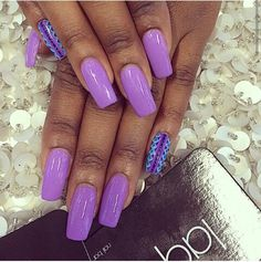 Purple with pinky designs