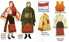 Popular Costumes, Folk Costume, Romania, Winter Coat, Ethnic, Textiles, Traditional, Embroidery, Blouse