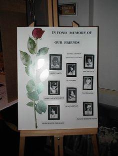 Class Reunion Memorial Ideas 5 Ways To Honor Deceased