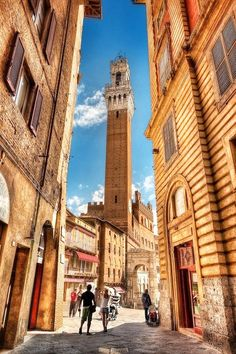 Siena, Italy. Study abroad here on our Italy: Sign Language & Deaf Culture Immersion. Running July 4- 30, 2014. Application deadline is March 15th. Apply on line by visiting us at studyabroad.uwm.edu.