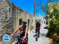 Cycling tours Crete - Zorbas Island apartments in Kokkini Hani, Crete Greece 2020 Cycling Holiday, Heraklion, Greece Holiday, Crete Greece, Hotels, Bicycle, Street View, Island, Hani