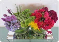 Rainbow Arrelgo floral