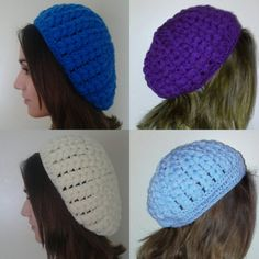 Puff Stitch Crochet Beanie in 4 colors,  Now €7.50 per piece ⤵ AquatharinaDesigns.etsy.com  #crochet #beanie #puffstitch #handmade #white #discount #etsybestgifts #handmade #lit🔥 #goedkoop #winter #autumn #muts #purpleblue #lightblue #heavenblue #hellblau #etsystore #holidayshopping #crochetbeanie #gehaaktemuts #handgemaakt #jw #kawaiidesu #kawaii #acrylicyarn #crocheting #clearance #handicraft #brightblue