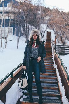 5 Stylish Winter Outfits (That Are Actually Warm) via @WhoWhatWear