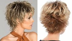 Women Short Wigs 2019 Flaxen Wave Curly Tousled Synthetic Wigs - coke - Image Sharing WorldPixie Short Choppy Hairstyles Over 50 short hairstylesUnique Short Hairstyles With Bangs For Thick Hair Short Hairstyles For Black Women Over 50 Shorter Short Textured Hair, Shaggy Short Hair, Short Shag Hairstyles, Short Sassy Hair, Short Layered Haircuts, Short Hair With Layers, Long Pixie, Short Hairstyles For Women, Short Hair Styles