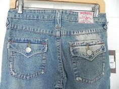 True-Religion-Super-Destroyed-Jeans-Size-27-Inseam-32-New-w-Tags-MSRP-262