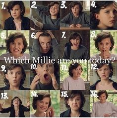 Which Millie are you today