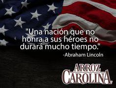 La libertad no es gratis, por eso hoy recordamos a los heroes de la Patria.