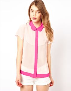 Ted Baker Color Block Shirt