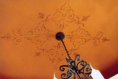 images of ceiling stencils | Cynthia Willoughby Decorative Painting ~ Stenciled Ceiling