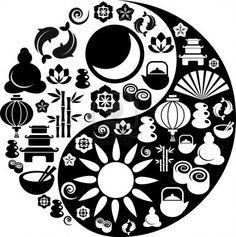zen icon yin yang