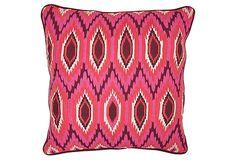 Moroccan 18x18 Linen Pillow, Pink on OneKingsLane.com http://shelleysassdesigns.wix.com/shelley-sass-designs
