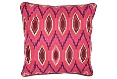 Moroccan 18x18 Linen Pillow, Pink on OneKingsLane.com http://shelleysassdesigns.wix.com/shelley-sass-designs