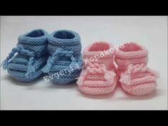 Baby Knitting, Children, Kids, Baby Shoes, Slippers, Crochet, Handmade, Youtube, Knitting And Crocheting