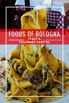 Travel to Bologna, Italy to sample the country's best food (and that's saying something!)
