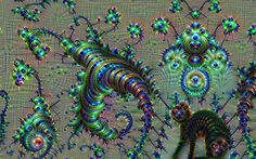 Very afraid of the anteater and gremlins by marijeberting on DeviantArt #neuralnetwork #deepdream #deepdreamfilterapp #art #google #abstract #deepdreamfiter #Inceptionism