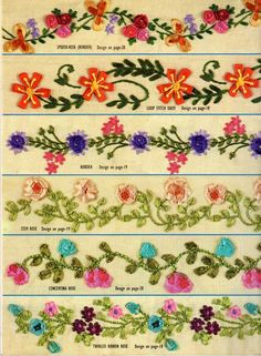 Silk Ribbon Embroidery Instructions | Book size: 7.15X9.75 Number of pages: 36 Price Rs:- 70