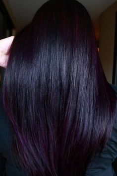 Mahogany Toned Black ❤ Mahogany hair is a must for you . - Mahogany Toned Black ❤ Mahogany hair is a must for you if you would like t - Pelo Color Borgoña, Mahogany Hair, Natural Hair Styles, Long Hair Styles, Burgundy Hair, Dark Violet Hair, Hair Color For Black Hair, Dark Purple Hair Color, Purple Hair Highlights