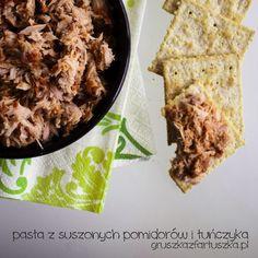pasta z suszonych pomidorów i tuńczyka Bread, Food, Brot, Essen, Baking, Meals, Breads, Buns, Yemek