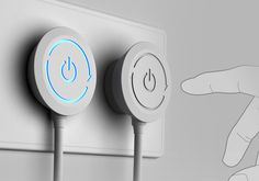 The age-old concern of knotted wires, messy plugs on a power socket get a fresh new solution. The Rotate Plug design allows users to plug appliances effortlessly, without the worry of electric cords getting tangled. The design of the power switch on the plug is environment-friendly and functional.