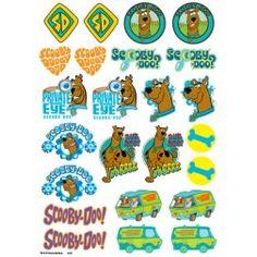 Scooby Doo Icons Sheet