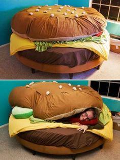 Le burger-lit !