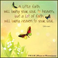 word of wisdom, spiritu, inspir quot, traveln faith, well, soul quotes, faith journey, live, quotes about faithfulness