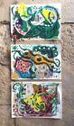 ♧• Venetian Trilogy I, II & III - Set of 3 Abstract Mixed Media Paintings... http://ebay.to/2jRq9jd
