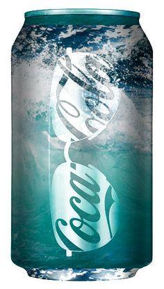 Coca-Cola Blue Can